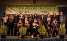 Cayón celebró su gala del deporte con 61 premios individuales