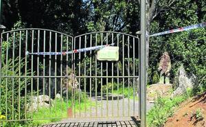 Nuevos destrozos en el parque mitológico Mina Pepita de Solares