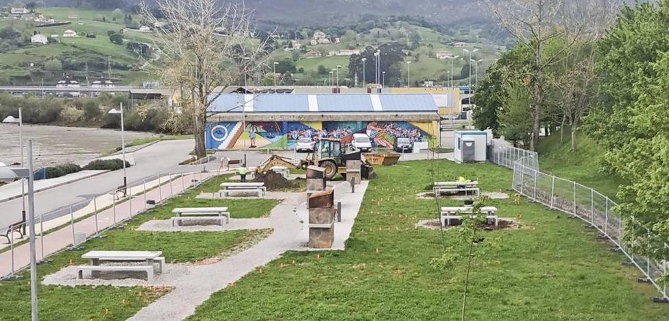 Comienzan las obras para completar la mejora de Las Parrillas, en Astillero