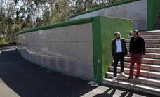 El cementerio de Río Cabo crece para cubrir la demanda de nuevos nichos en Torrelavega