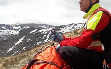 Un senderista ha tenido que ser rescatado en Lunada tras caer 30 metros por una ladera