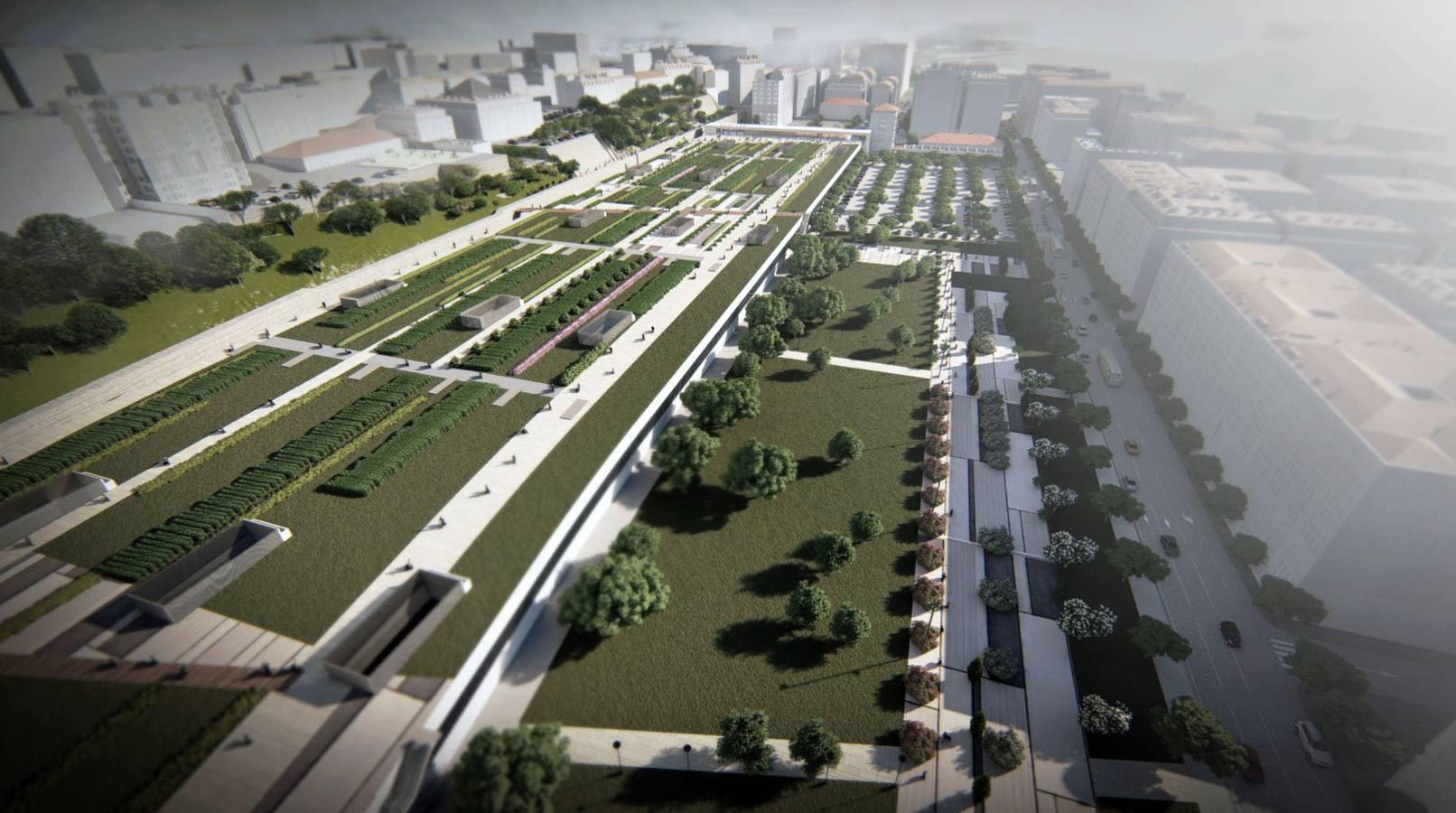 Deba y Concejo Abierto convocan actos a favor de un corredor verde en el espacio ferroviario de Santander