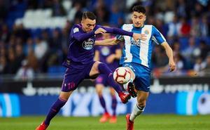 Maxi Gómez da más aire al Celta y el Espanyol se olvida de Europa