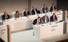 Liberbank ganó 21 millones de euros en el primer trimestre, un 28,5% menos