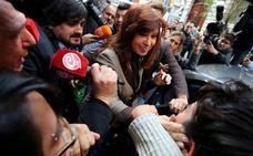 Cristina Fernández ya está en campaña