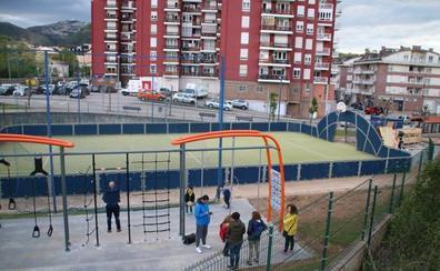 Nueva área deportiva en La Rañada