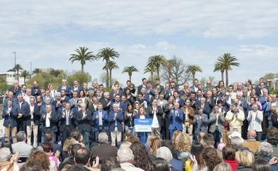 Buruaga presenta a los 102 candidatos del PP en las municipales como la «mayor fortaleza del partido»