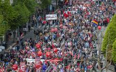 Miles de personas exigen en Santander la derogación de la reforma laboral y la mejora de las pensiones