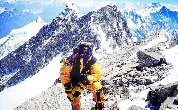 Juanito Oiarzabal: «El Annapurna fue la culminación de un bonito proyecto»