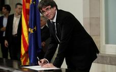Puigdemont pide a la UE que castigue a España y le deje sin voto en el Consejo