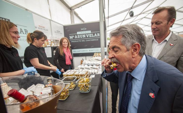 Arranca la Feria de la Anchoa de Santoña