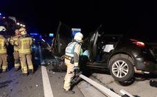 Fallece un vecino de Castro Urdiales tras una colisión en la A-8 a la altura de Muskiz