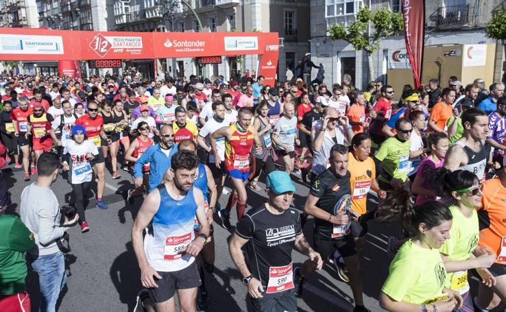 La Media Maraton de Santander, en imágenes