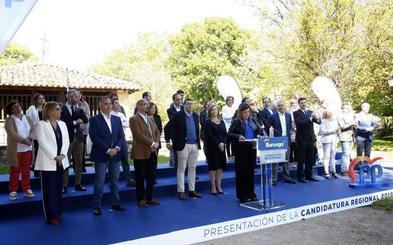 El PP presenta su candidatura regional como «el antídoto» para evitar «pactos sanchistas»