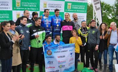 Miguel Urrutia y Lucía Ibáñez se proclaman campeones de Cantabria de duatlón