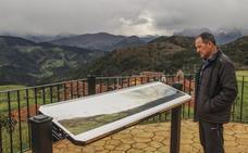 Cahecho presume de ser el «balcón» de Cabezón de Liébana sobre los Picos de Europa