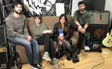 La incipiente banda Martes martes presenta su primer disco este viernes en Santander