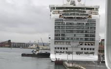Atraca en Santander el crucero más grande de los llegados este año, con 3.178 pasajeros
