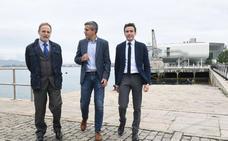Casares propone un plan director a diez años para el Puerto de Santander