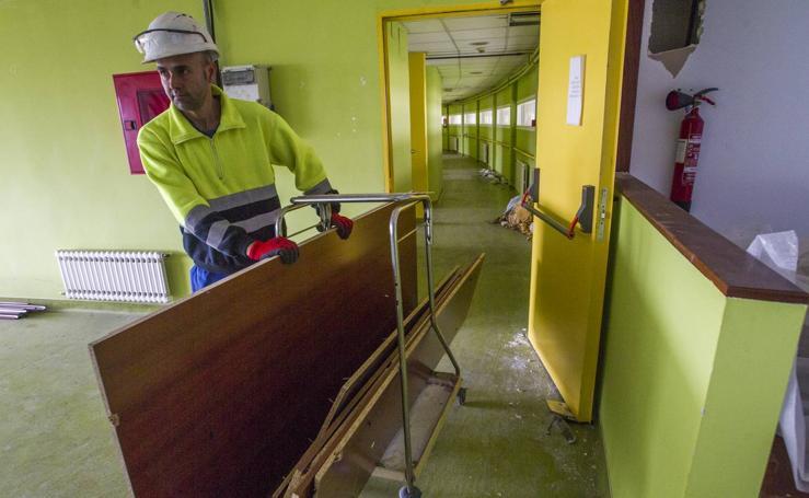 Arrancan las obras en La Pereda