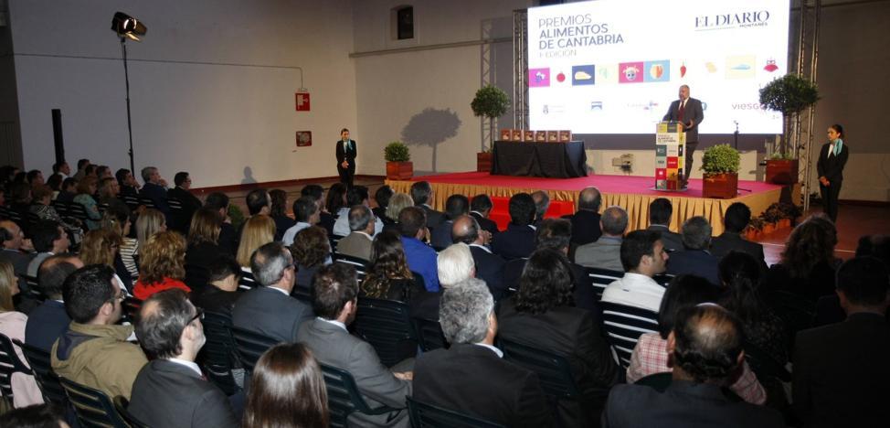 La gala de entrega de los IV Premios Alimentos de Cantabria se celebra hoy en Torrelavega