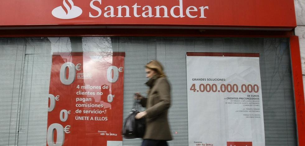 El Santander abre la negociación con los sindicatos para el ERE de la fusión