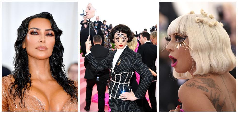 La fantasía hecha maquillaje triunfó en la gala MET