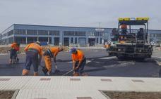 Un vial de la nueva carretera a Morero se abrirá al tráfico el próximo viernes