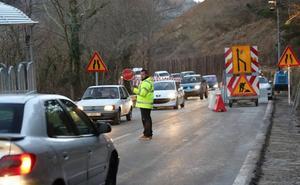 La carretera cortada por el argayo de Ruente abre sus dos carriles de forma permanente