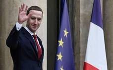 Macron y Zuckerberg debaten el control del contenido de odio en redes sociales