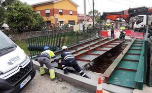 Los Corrales prepara el cuarto nuevo puente de la legislatura