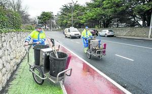 Los vecinos dan un aprobado raspado al servicio de limpieza de Santander