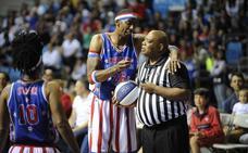 Los Harlem Globetrotters y su espectáculo de basket y malabares