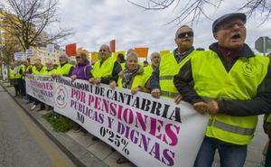 Los pensionistas cántabros hacen balance de sus reivindicaciones