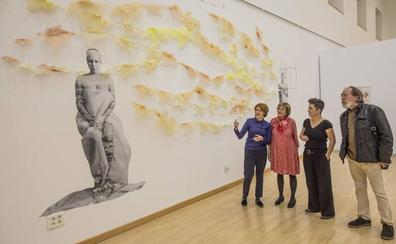Yolanda Novoa expone 'Bendita locura en la Biblioteca Central