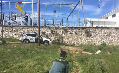 Cuatro detenidos por robar cable de cobre en Mataporquera