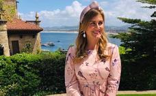 Carlota Corredera, una invitada de boda con vistas a la bahía de Santander