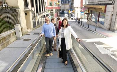Igual sigue apostando por las escaleras mecánicas en su proyecto de ciudad