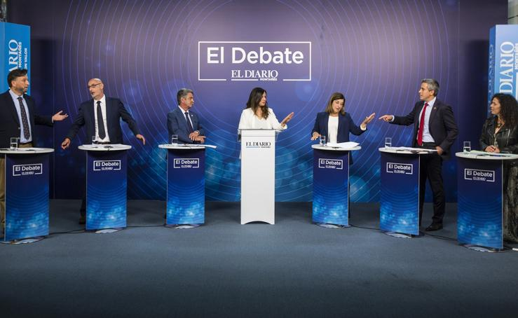 Los candidatos, cara a cara