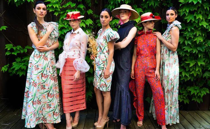 La feminidad marca la nueva colección de la diseñadora cántabra Trinidad Castillo