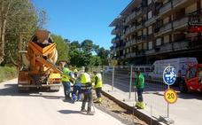 San Vicente mejora la urbanización de las calles más próximas a las playas
