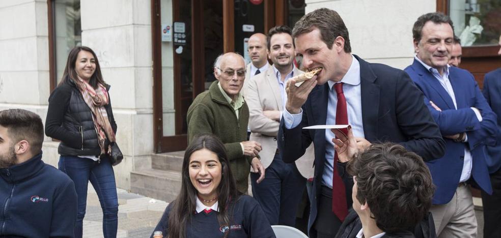 Pablo Casado: «En el debate del Diario todos han hecho la oposición al PP como si gobernara»