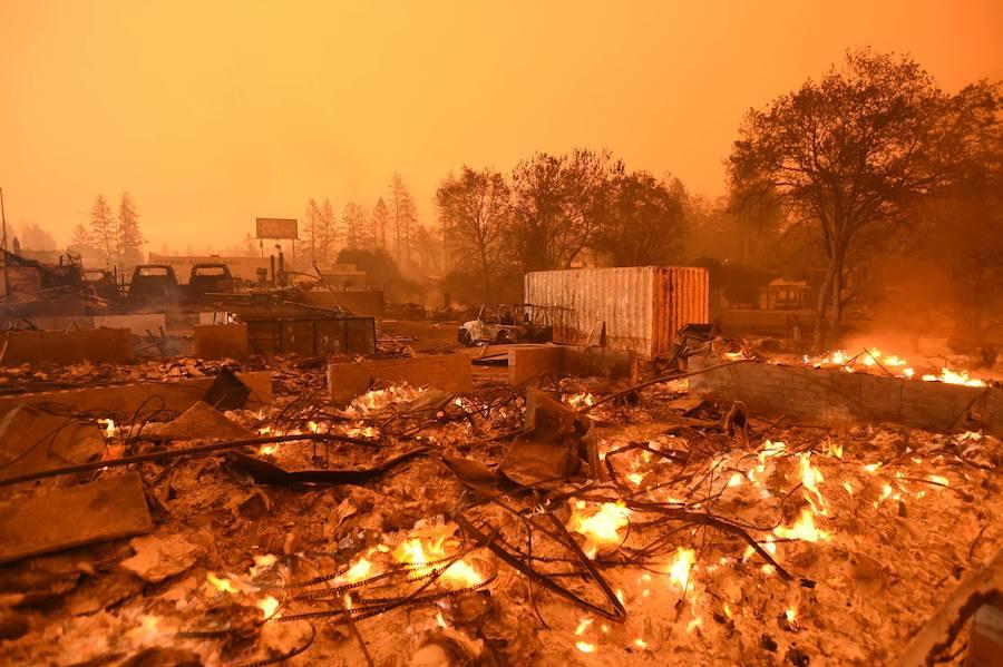 Una línea de alta tensión, causante del incendio que mató a 85 personas en California