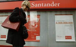 El Santander avanza un informe de una consultora para justificar el ERE