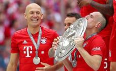 El Bayern logra en la última jornada su séptima Bundesliga seguida