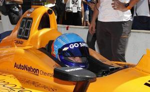 La venda cae para Alonso y McLaren en Indianápolis