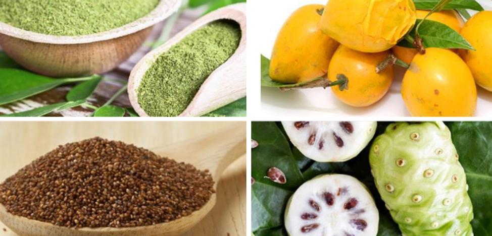Ingredientes desconocidos pero muy saludables