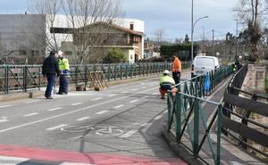 La ampliación del puente de Cartes obliga a regular el tráfico dos semanas