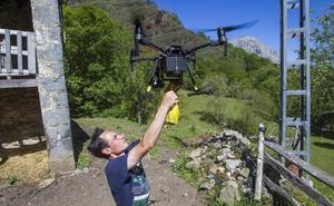 El dron que pastorea