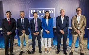 Igual defiende sus planes para Santander frente a cinco rivales que reclaman un cambio